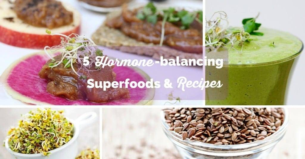 5 Hormone-Balancing Superfoods + Recipes (for thyroid, adrenals, PCOS, menopause and more!)