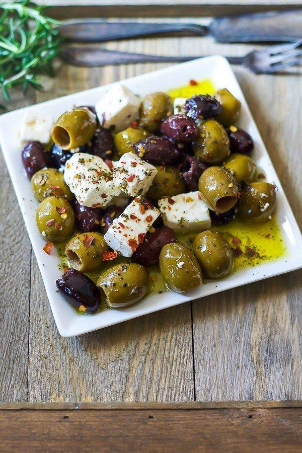 Marinated Olive Salad
