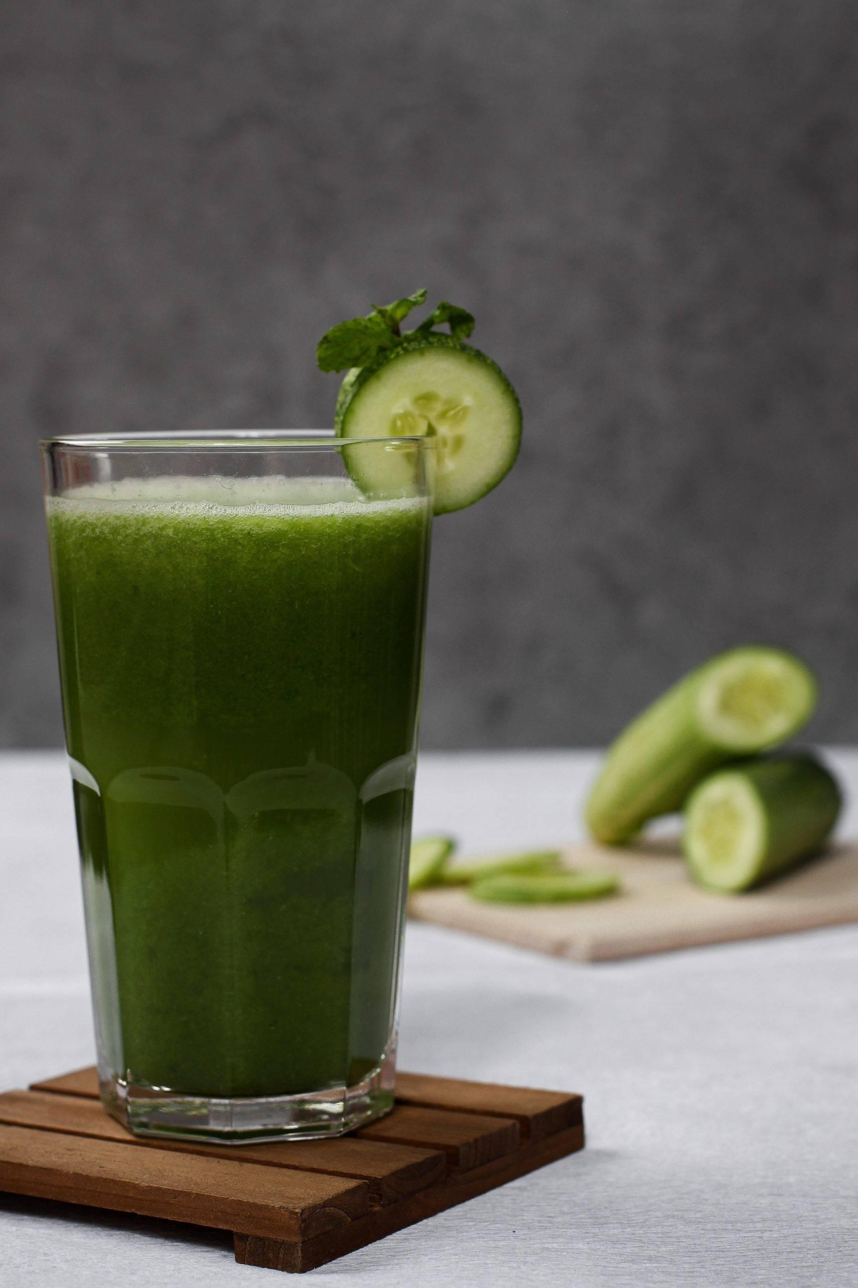 Fresh-pressed Morning Green Juice